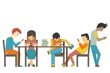 Meer kinderen last van nek of rug door het gebruik van tablet of mobiele telefoon