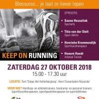 ocon sportmedische kliniek - symposium - sportmedisch symposium - zorgsaam hellendoorn - fysiotherapie Zorgsaam