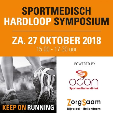 Sportmedisch hardloop Symposium: 'Keep on Running'