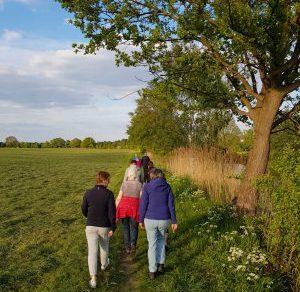 Start met wandelen voor de Diepe Hel Holterberg wandeltocht
